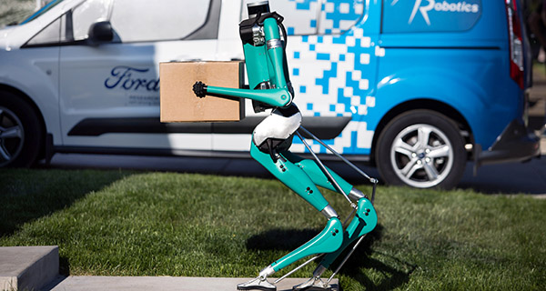 Delivery options: drone or driverless vehicle with robot?