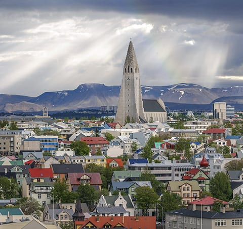 Hallgrimskirkja Evangelical-Lutheran church