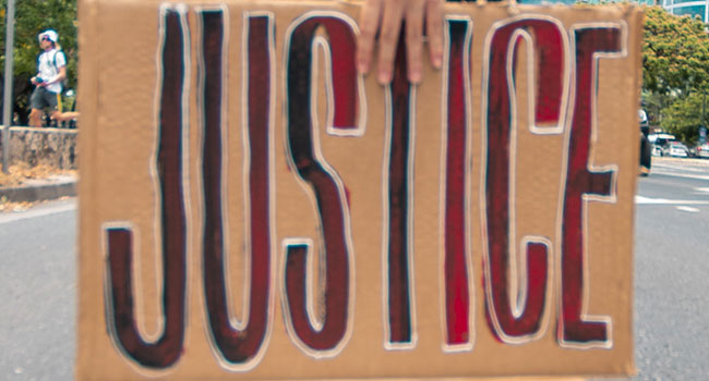 Lose sight of justice and society starves