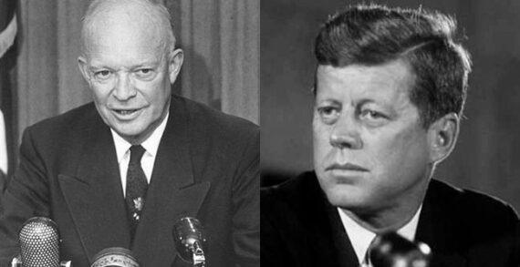 Eisenhower was cagey but Kennedy rushed in