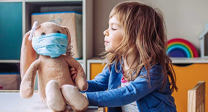 What's the pandemic doing to my young child?